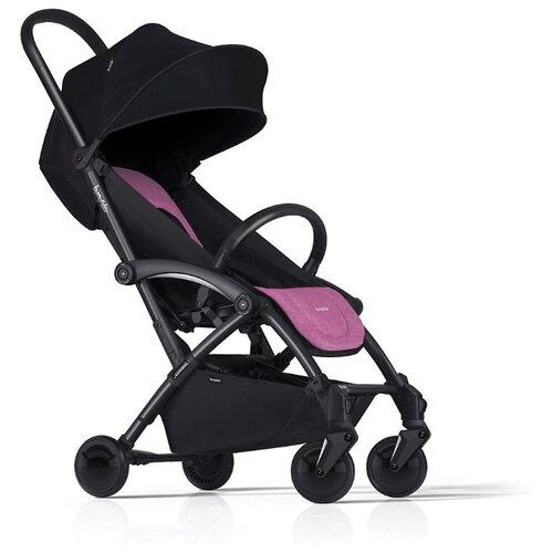 Прогулочная коляска Bumprider Connect 2 black pink, цвет шасси: черный