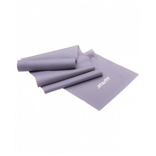 Эспандер лента Starfit ES-201 (1200х150х0.55 мм) 120 х 15 см серый эспандер лента starfit es 201 1200х150х0 45 мм 120 х 15 см синий
