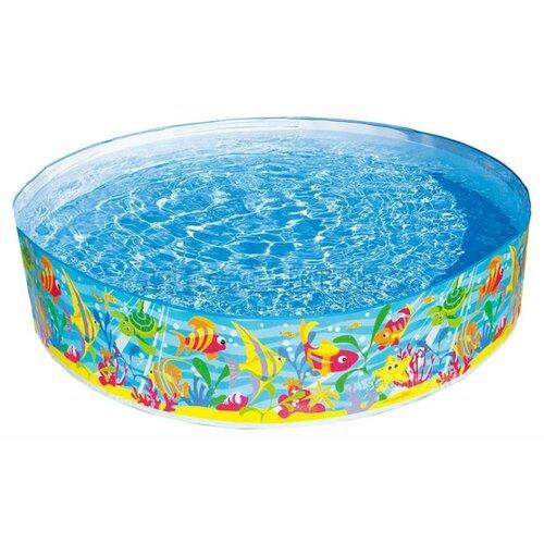 Детский бассейн Intex Ocean Play 56452 Snapset круг для плавания детский intex ocean reef 61см 59242