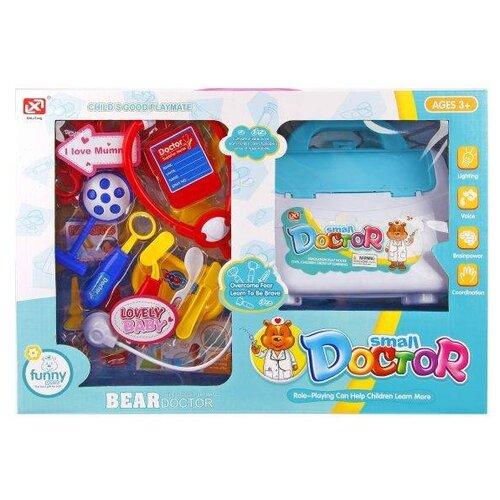 Набор доктора Наша игрушка 8124-3 набор доктора наша игрушка 643452