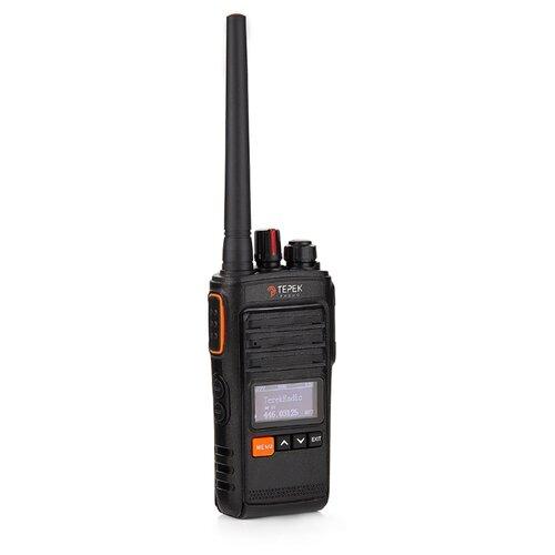 Рация ТЕРЕК РК-212 Military U черный мобильная рация терек рм 302 uhf