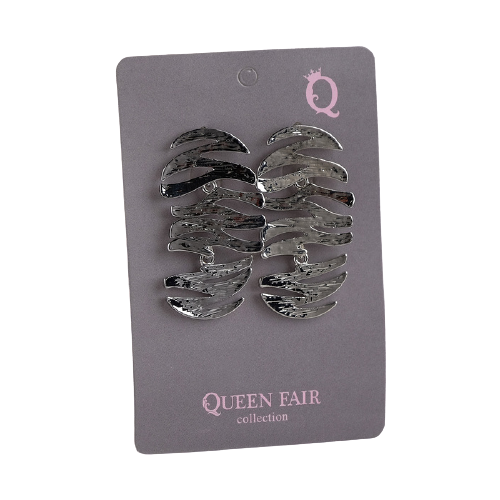 Queen fair Серьги Листья 4571001