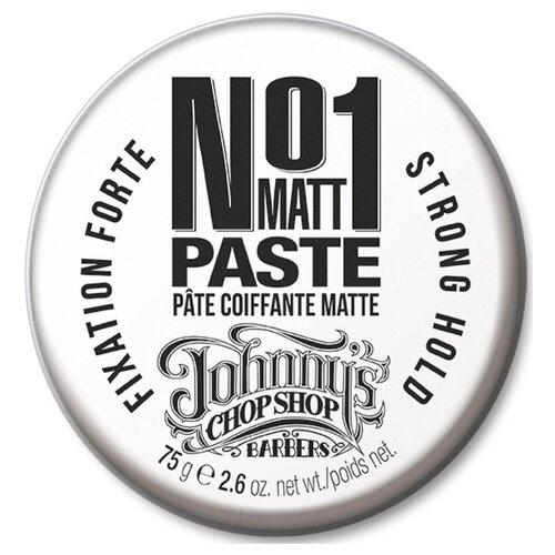 JOHNNY'S CHOP SHOP Паста №1 Matt Paste, сильная фиксация, 75 г