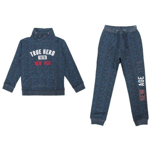 Купить Комплект одежды Fresh style размер 98, темно-синий, Комплекты и форма