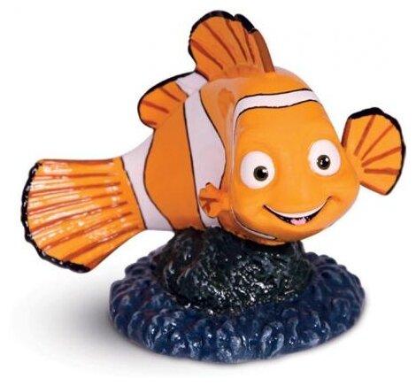 """Грот для аквариума Meijing Aquarium """"Морская звезда"""", цвет: оранжевый, 15 х 13,8 х 1,7 см"""