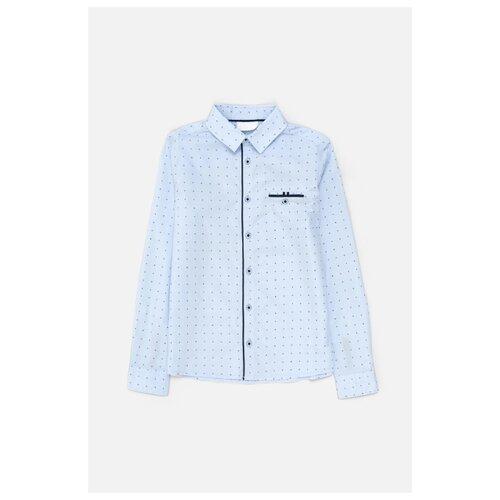 Рубашка Acoola размер 158, голубой, Рубашки  - купить со скидкой