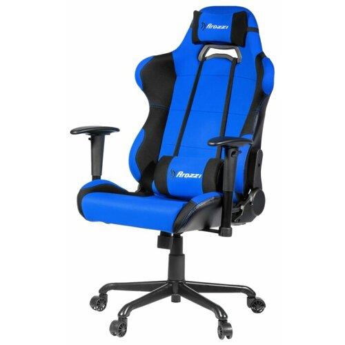 Компьютерное кресло Arozzi Torretta XL игровое, обивка: текстиль/искусственная кожа, цвет: blue