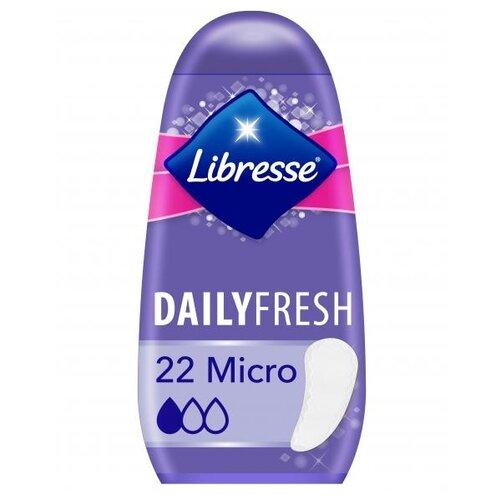 Libresse прокладки ежедневные DailyFresh Micro 22 шт. спот 223 122 04