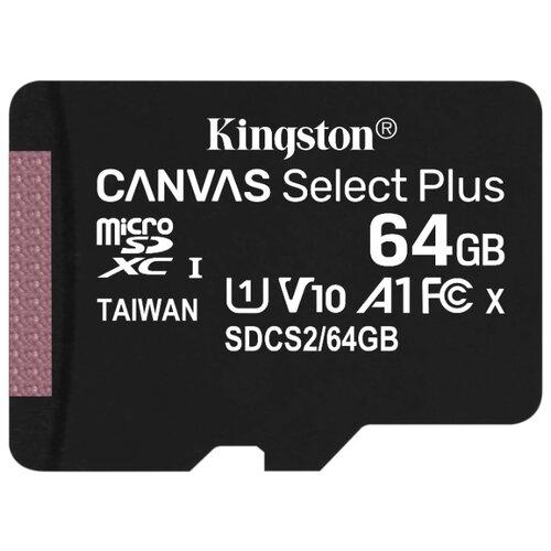 Фото - Карта памяти Kingston SDCS2/64GBSP карта памяти kingston sdcs2 64gb