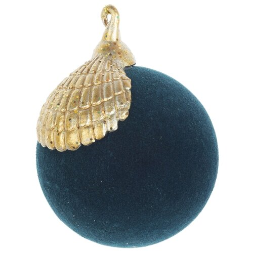 Набор шаров KARLSBACH 08908, темно-зеленый/золотистый