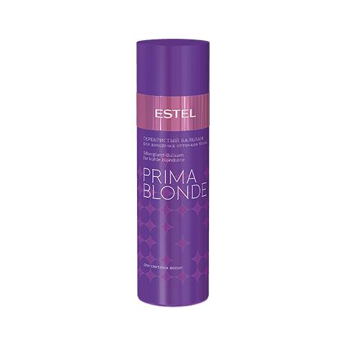 Купить Estel Professional бальзам Prima Blonde Серебристый для холодных оттенков блонд для светлых волос, 200 мл