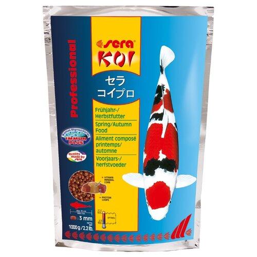 Сухой корм для рыб Sera Koi Professional весна/осень 1000 г сухой корм для рыб sera koi professional лето 1000 г