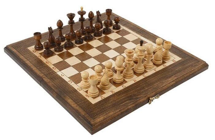Haleyan Шахматы + Нарды резные 40