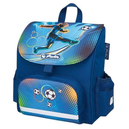 Herlitz Ранец Mini Softbag Soccer, синий herlitz рюкзак bliss soccer