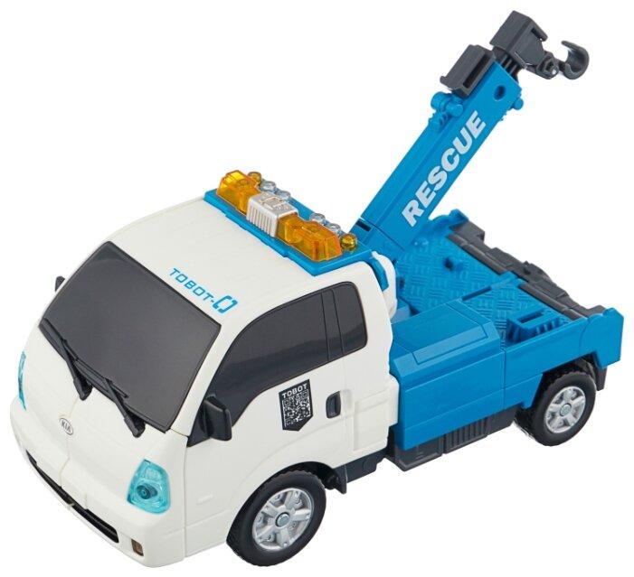 Робот-трансформер YOUNG TOYS Tobot Zero 301018 белый/синий
