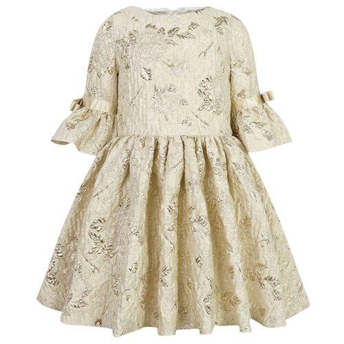 Платье David Charles размер 174, бежевый