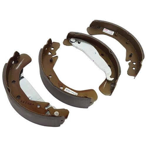 Барабанные тормозные колодки задние DELPHI LS1829 для Opel Astra, Opel Combo, Opel Vectra, Opel Zafira (4 шт.) фото