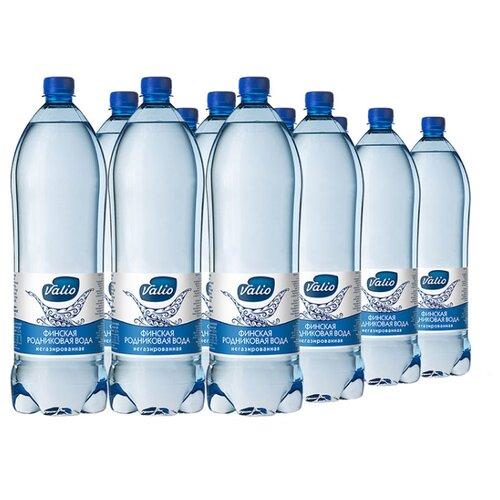 Вода питьевая родниковая Valio негазированная, ПЭТ, 12 шт. по 0.5 лВода<br>