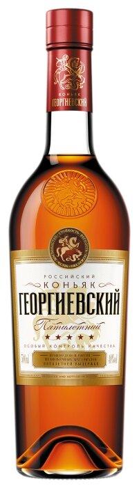 Коньяк Георгиевский 5 лет, 0.5 л