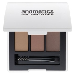 Andmetics Пудра для бровей Brow Powder Trio