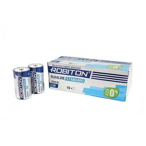 Батарейка ROBITON Alkaline Standart LR20/D 10 шт картон