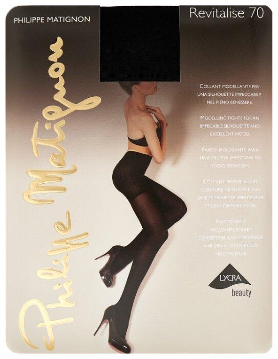 Колготки Philippe Matignon Revitalise 70 den, размер 4-L, nero (черный)