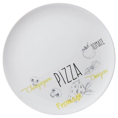 Luminarc Блюдо для пиццы Friend's Time, 32 см белый цена 2017