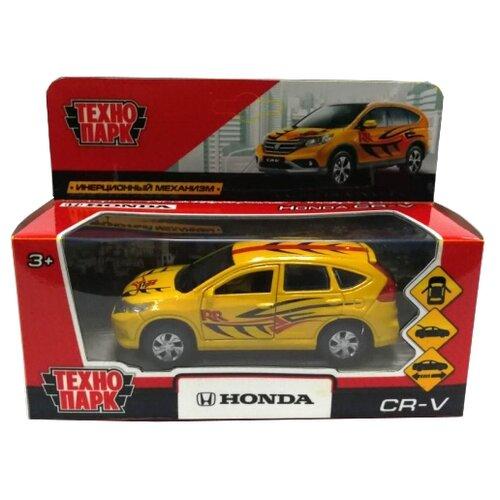 Легковой автомобиль ТЕХНОПАРК Honda CR-V Спорт (CR-V-S) 12 см желтыйМашинки и техника<br>