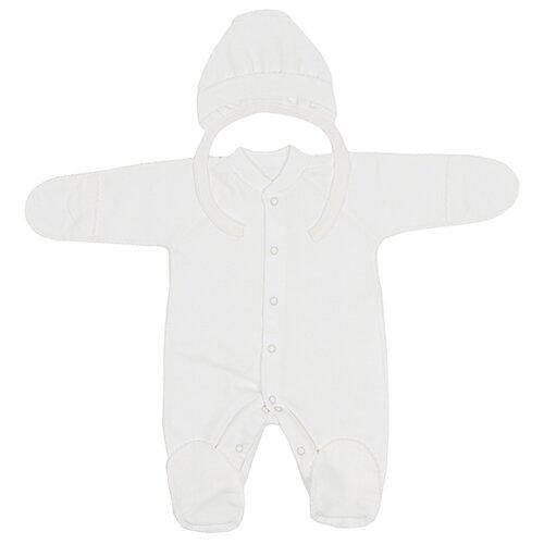 Комплект одежды Клякса размер 62, экрюКомплекты<br>