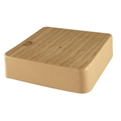 Распределительная коробка TDM ЕLECTRIC SQ1401-0409 наружный монтаж 100x100 мм сосна