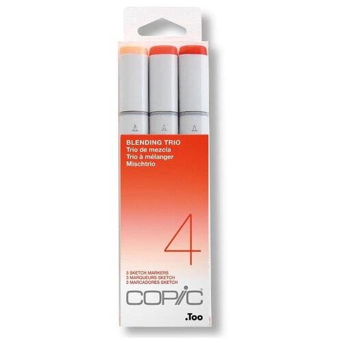 Купить COPIC набор маркеров Sketch Blending Trio 4 (H21075634), 3 шт., Фломастеры