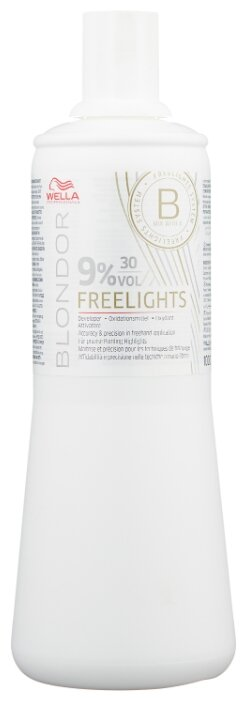 Wella Professionals Blondor окислитель Freelights, 9%