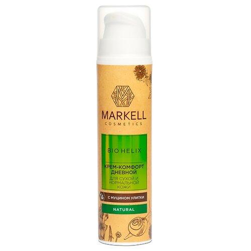 Купить Markell Natural BIO HELIX Крем-комфорт для сухой и нормальной кожи лица дневной с муцином улитки, 50 мл
