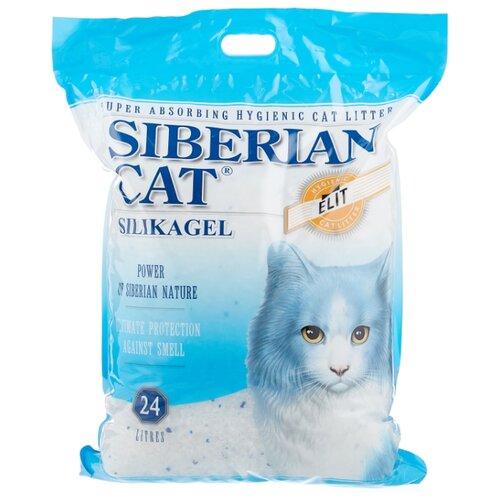 Впитывающий наполнитель Сибирская кошка Элита, 24 л