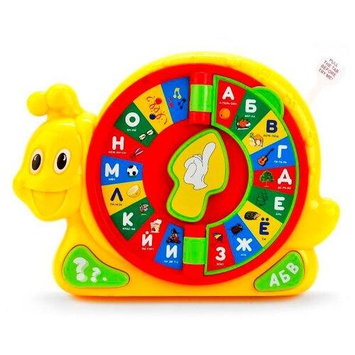 Развивающая игрушка Play Smart Улитка мультиколор игрушка пластмассовая каталка вертолет play smart pac 28х15х10 см арт 1192
