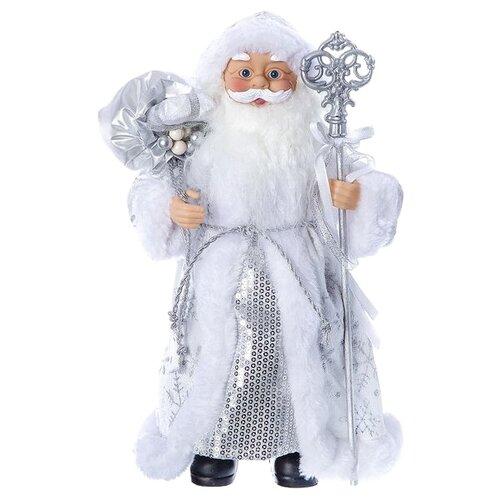 Фигурка SNOWMEN Дед Мороз 30 см (Е96409) серебристый
