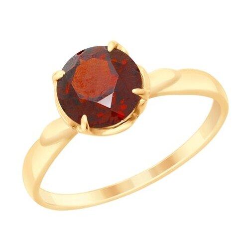 Diamant Кольцо из золота с гранатом 51-310-00182-2, размер 17 diamant кольцо из золота с гранатом 51 310 00182 2 размер 17