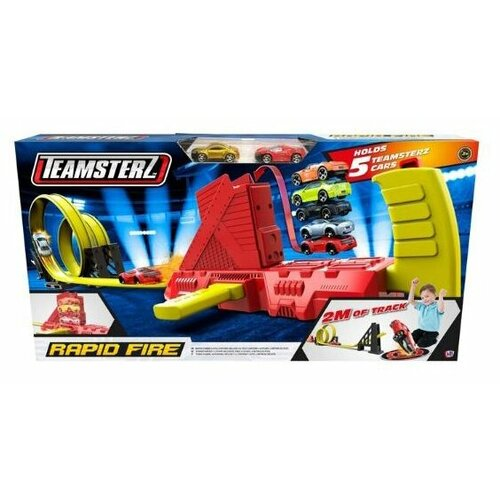 Трек HTI Teamsterz Rapid Fire (2 машинки) трек hti teamsterz rapid fire 5