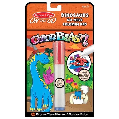 цена на Melissa & Doug Раскраска. Прояви цвета. Динозавры