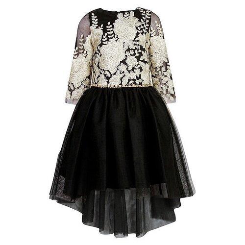 Купить Платье David Charles размер 134, черный, Платья и сарафаны