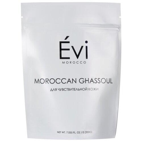 Evi Morocco марокканская глина Гассул для чувствительной кожи, 200 г