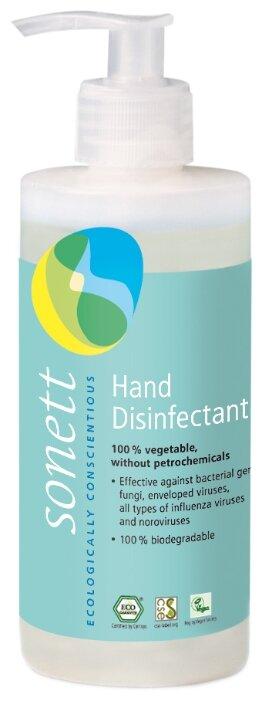 Антисептическое средство Sonett Дезинфицирующее средство для рук, против бактерий, грибков и всех известных вирусов, включая вирус гриппа и норовирусов. 300мл