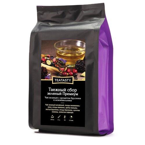 Чай зеленый TEATASTY Таежный сбор Премиум , 150 г фото