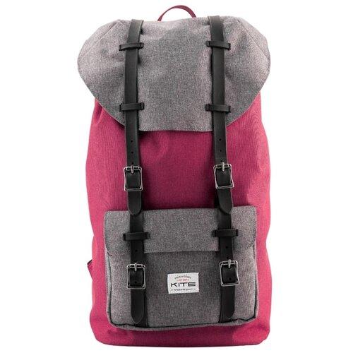 Рюкзак Kite Urban K18-860L-2 23 розовый/серый