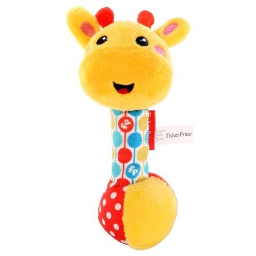 Погремушка Fisher-Price Жираф желтый