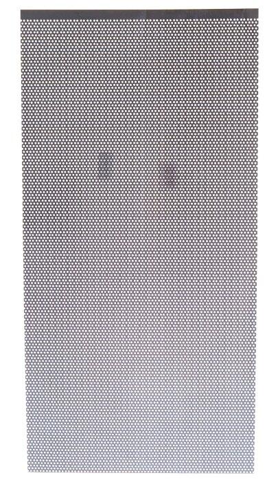Лист перфорированный алюминиевый GAH ALBERTS 464240 500х250 мм