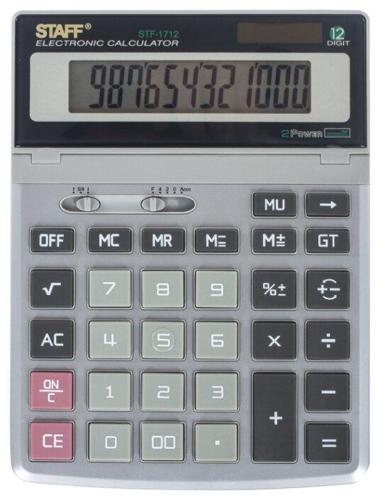 Калькулятор бухгалтерский STAFF STF-1712