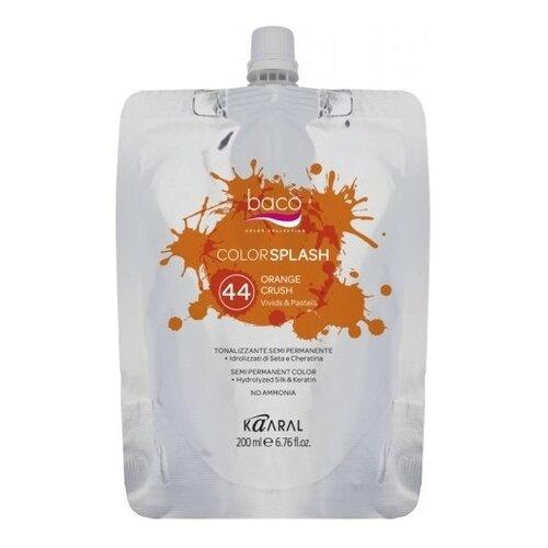 Купить Краситель прямого действия Kaaral Baco Color Splash 44 Orange Crush, 200 мл