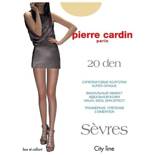 Фото - Колготки Pierre Cardin Sevres, 20 den, размер II-S, antilope (бежевый) колготки 50 den pierre cardin marseille coffee 2 мл