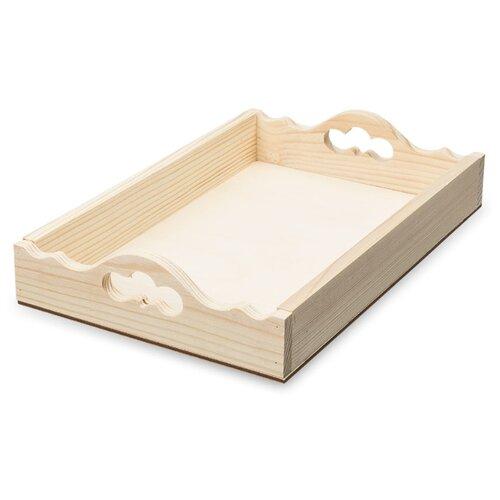 Купить Mr. Carving Заготовка для декорирования Поднос №1 ВД-650 бежевый, Декоративные элементы и материалы